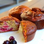 low carb berry muffin