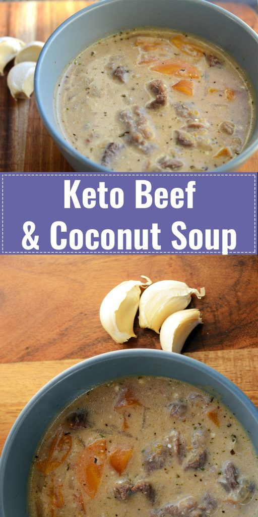 Beef and coconut soup