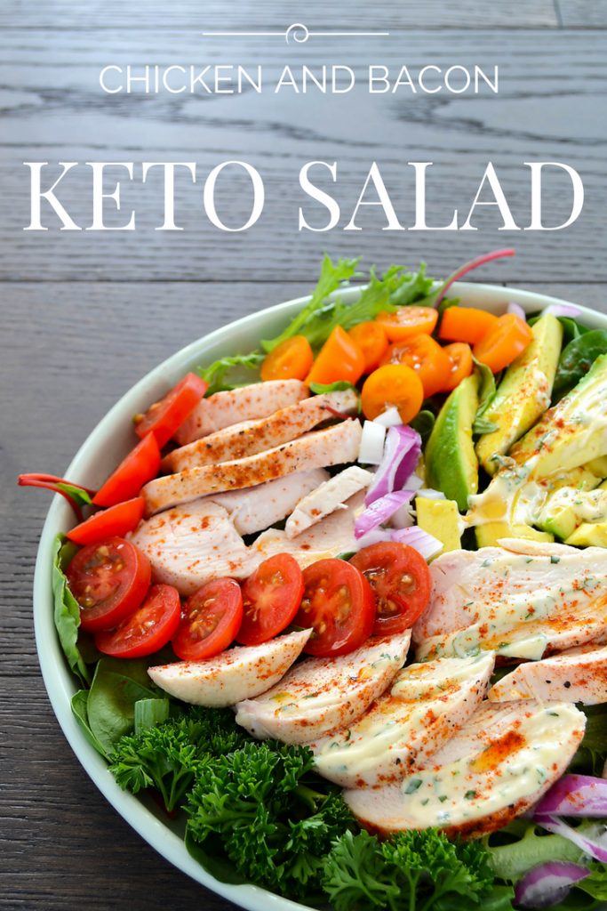Creamy Chicken Avocado Salad