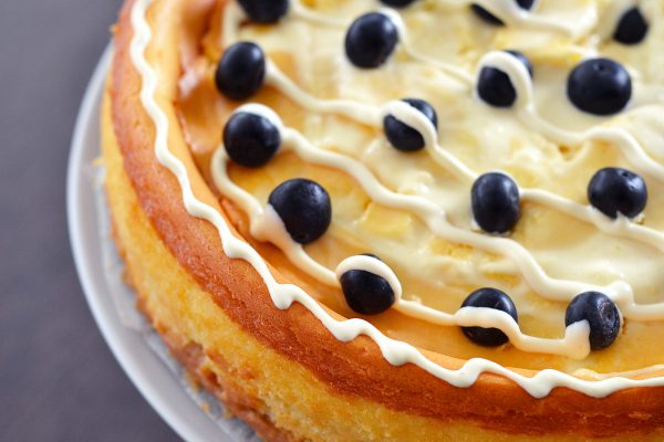 Keto Cake Recipe Australia: New York Baked Cheesecake