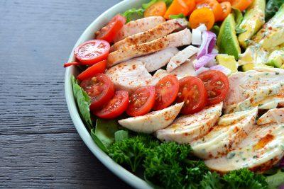 Creamy Chicken Avocado Salad