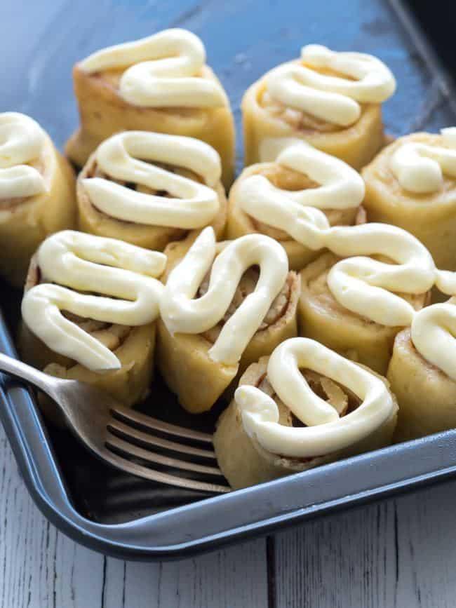 Keto Cinnamon Rolls - Low Carb Dessert - Keto Recipes