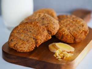 Ginger and Clove Keto Cookies Recipe