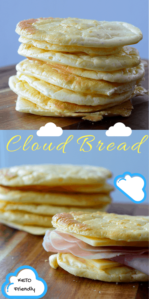 Cloud bread is a great substitute for bread on the ketogenic diet. The term
