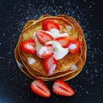 Low Carb Pancakes Recipe – Strawberries and Cream