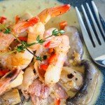 Creamy Bacon Prawns – Easy Keto Recipes