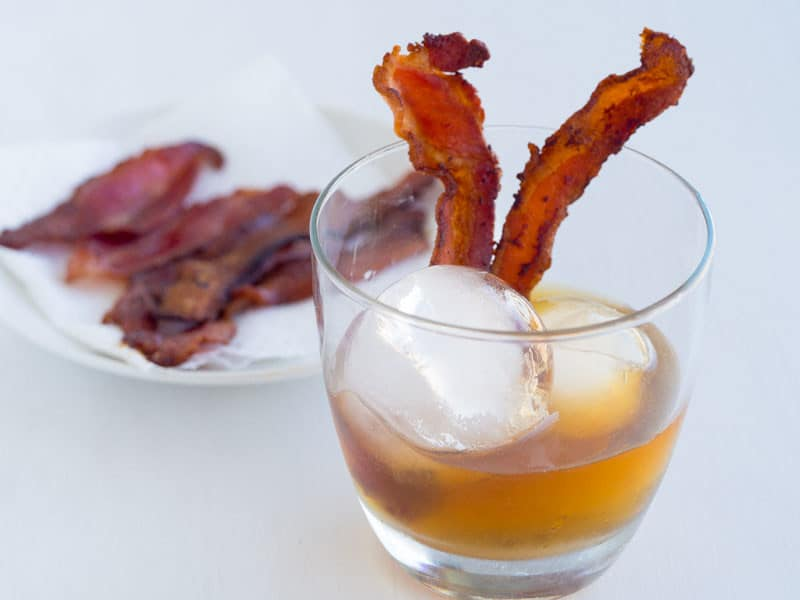 Bacon Infused Bourbon