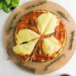 Cauliflower Pizza – Low Carb Pizza Crust