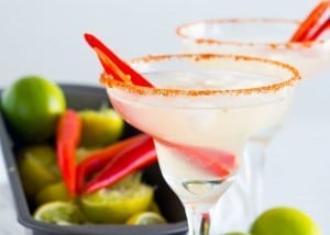 Chili Infused Margarita