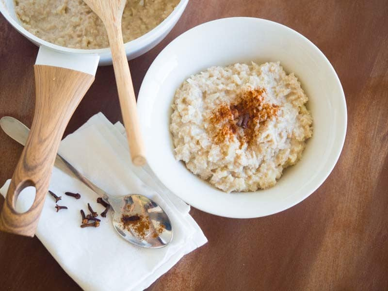 Low Calorie Rice Cake Recipes: Low Carb Oatmeal Substitute