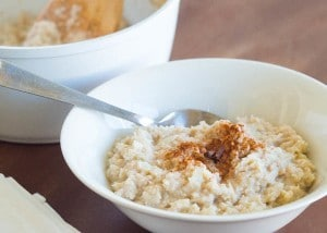 Low Carb Rice Pudding