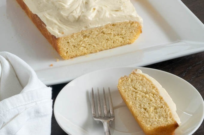 Keto Lemon Coconut Cake with Cream Cheese Icing
