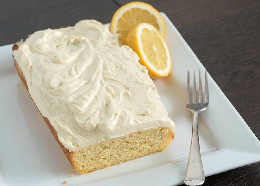 Keto Breakfast Cake Recipe: Keto Lemon Coconut Cake With Cream Cheese Icing