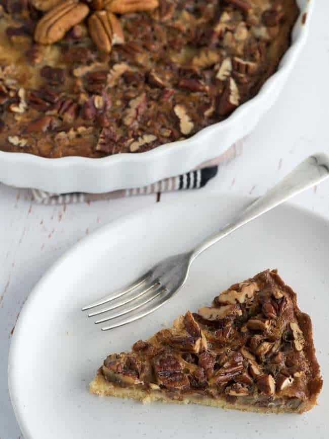 Brandy Low Carb Pecan Pie – Keto Pecan Pie