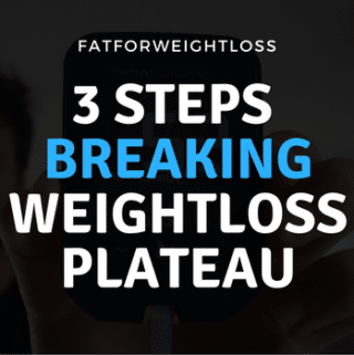 Breaking Weight Loss Plateau