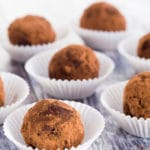 Low Carb Chocolate Espresso Truffles