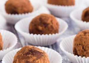 Low Carb Chocolate Espresso Truffles