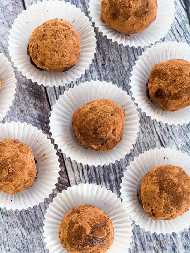 Low Carb Chocolate Espresso Truffles - FatForWeightLoss