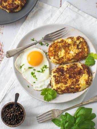 Cauliflower Hash Brown