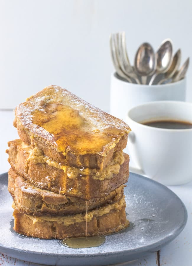 Keto French Toast with Peanut Butter Maple Syrup – Keto Bread Recipes