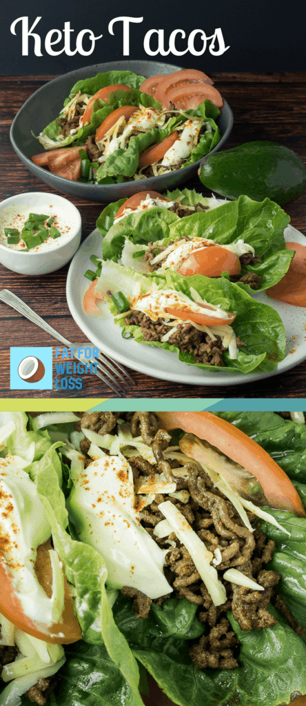 Keto Tacos - Basic Keto Dinners For Everyday People | Low Carb Dinner Ideas