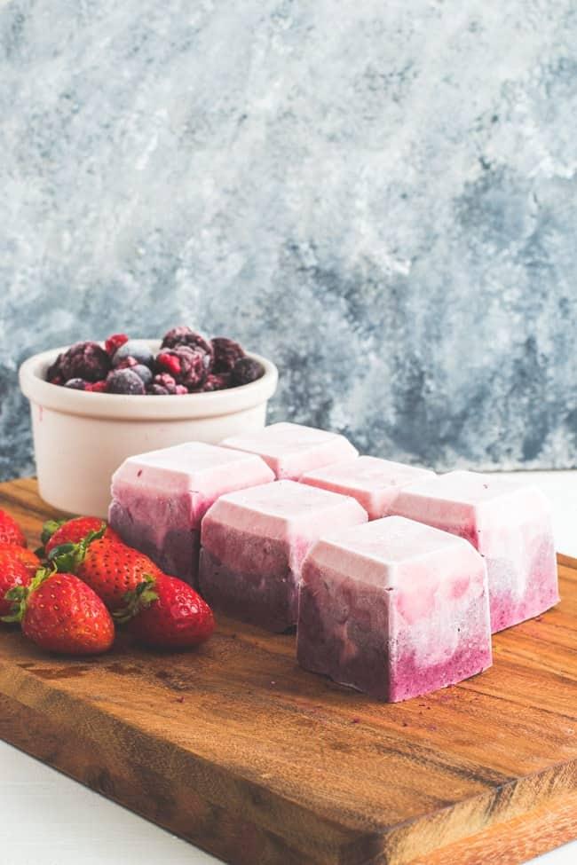 Berry Cheesecake Fat Bombs - FatForWeightLoss