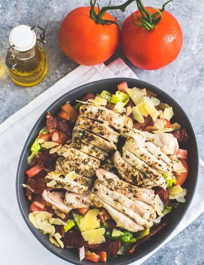 Keto Grilled Chicken Salad