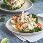 creamy chicken lettuce cups