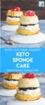 keto sponge cake