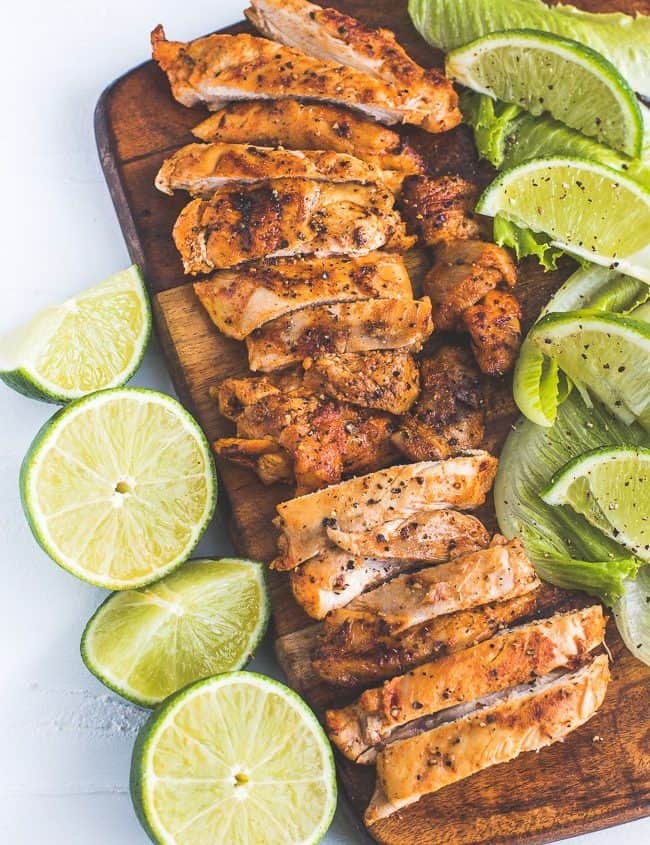 Lime and Pepper Grilled Chicken