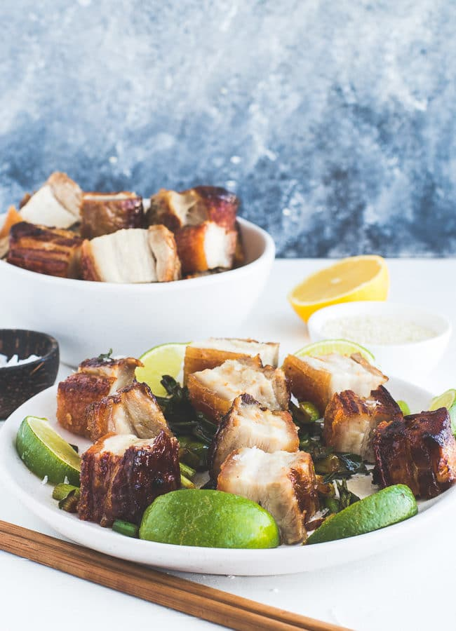Pork Belly with Green Onion