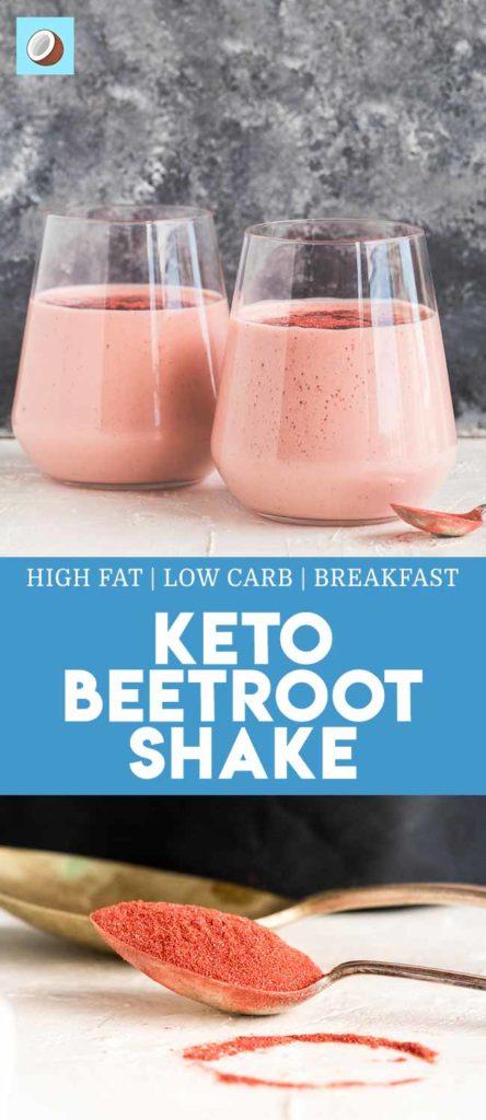 Keto Beetroot Shake
