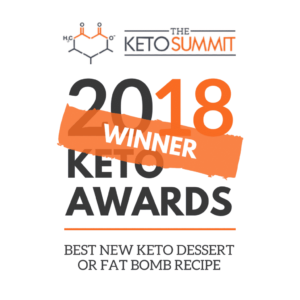 best keto dessert of the year winner 2018