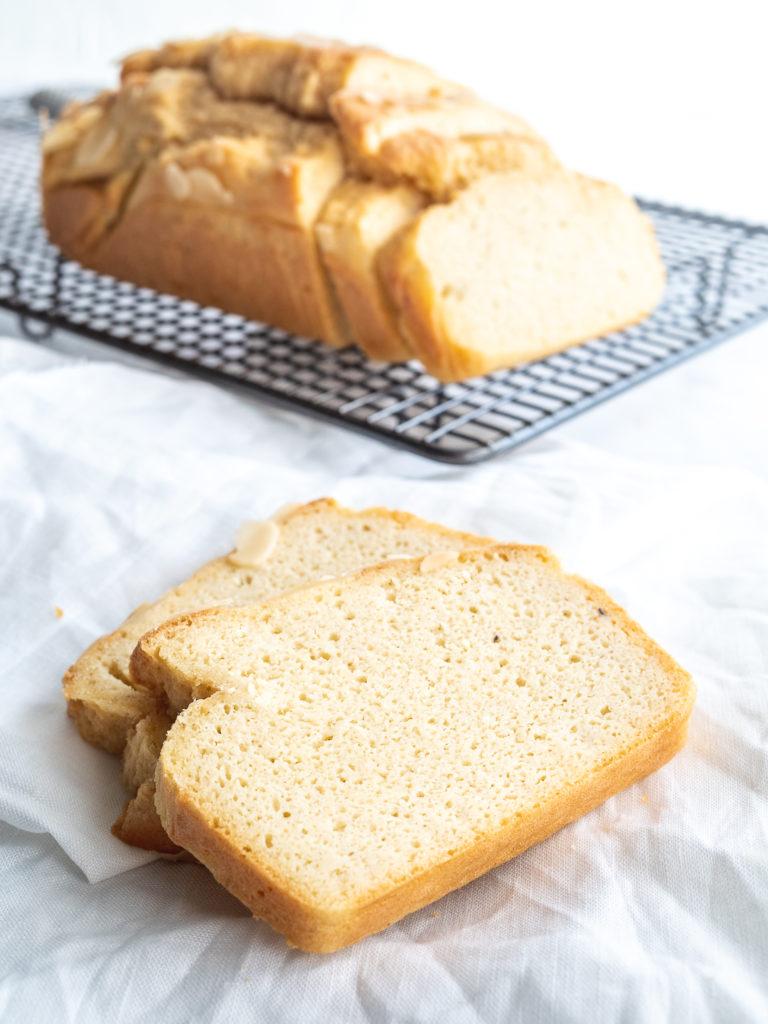 Keto Bread on wire rack