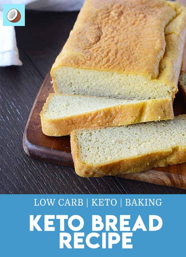 Finding it hard to give up carbohydrates? This keto bread makes the switch much easier, easily being able to still have sandwiches and toast. #ketobread #lowcarbbread