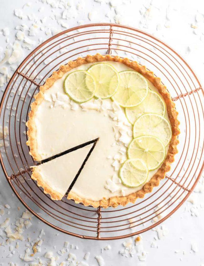 keto lemon tart