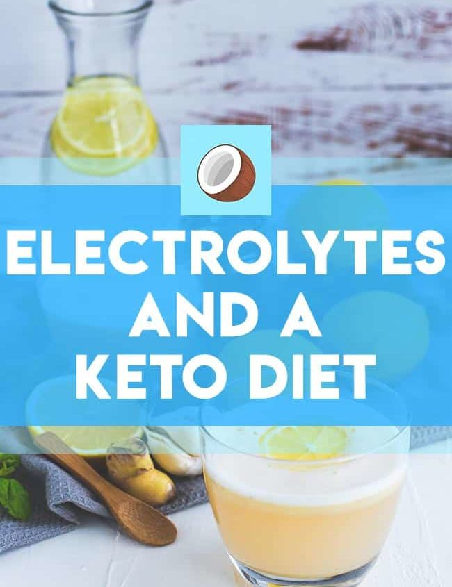 electrolytes on a ketogenic diet