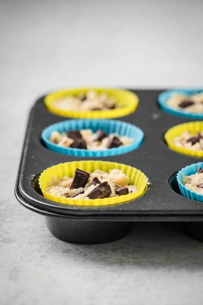 cupcakes in a tray