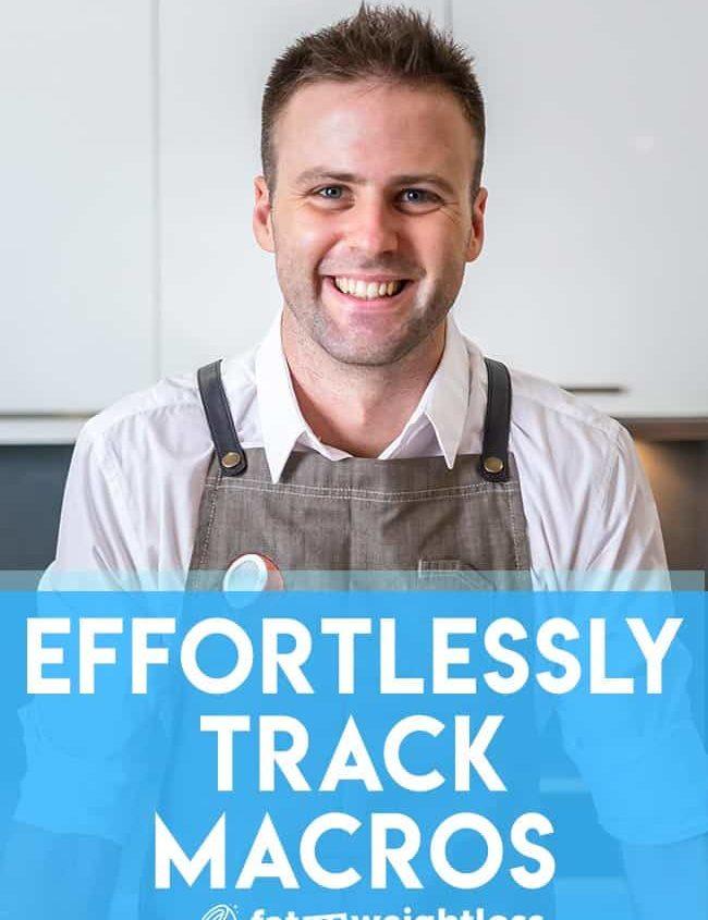 Effortlessly track macros