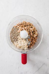 keto granola in food processor