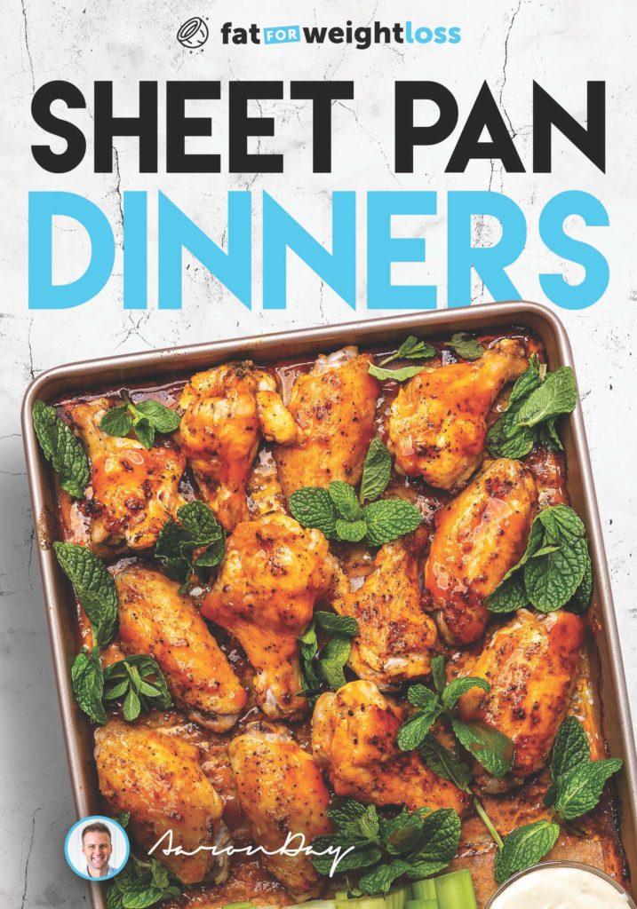 keto sheet pan dinners cover
