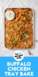 Buffalo Chicken Tray Bake