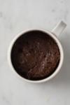 finished mug cake