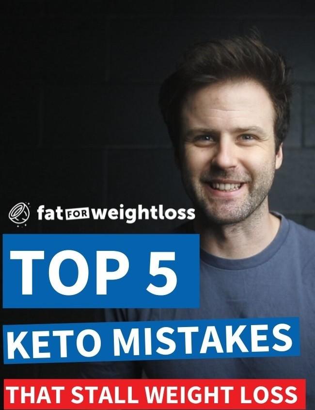 top 5 keto mistakes