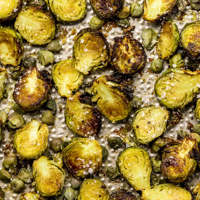 Brussels Sprouts Close Up