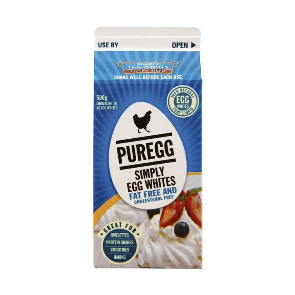 egg whites carton